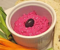 Beet and Yogurt Spread