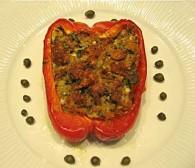 Anchovy-stuffed Peppers Basilicata (Peperoni Ripieni Basilicata)