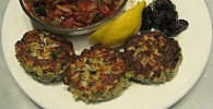 Savory Fish Cakes (Ψαροκεφτέδες)