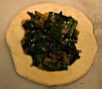 Spinach Pie Step 1