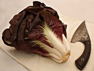 Radicchio and Knife