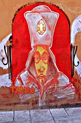 Athens Graffiti Art - Patriarch