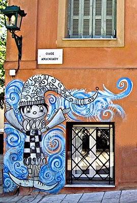 Athens Graffiti Art - Joker