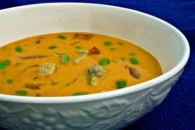 Fish Soup with Edamame