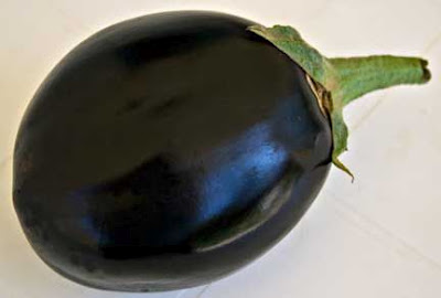 Eggplant From Our Garden in Atsiki, Limnos