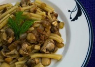 Pasta with Wild Mushroom and Clam Sauce