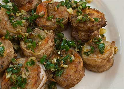 Crispy Pan-Fried Salt & Pepper Shrimp