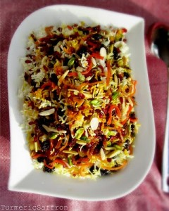 Jeweled Persian Rice (Javaher Polow)