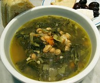 Greens & Beans Soup (Φασόλια με Χόρτα)