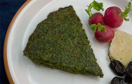 Persian Herb Frittata (Kuku Sabzi) Recipe — Dishmaps