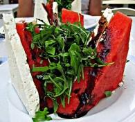 Watermelon Feta and Arugula Salad (Δροσερή Σαλάτα με Καρπούζι, Ρόκα και Φέτα)