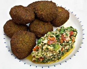 Falafel and Tabbouleh