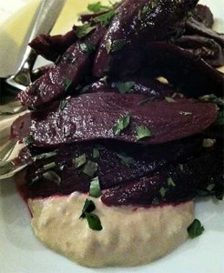 Beets with Tonnato Sauce from Artusi Bar, Seattle