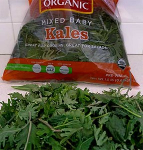 Bag of Baby Kale