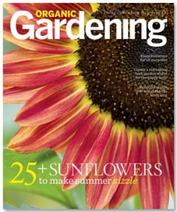 June/July 2012 Organic Gardening Cover