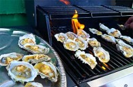 Chili Butter with Grilled Oysters