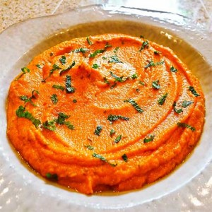 Spicy Carrot Spread (Vegan)
