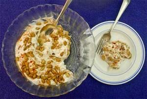 Tiss'ye (Fatteh Hummus)