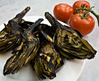 Grilled Artichokes with Spruce Mayonnaise