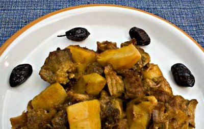 Quince and Pork Stew