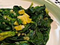 Spinach with Preserved Lemon