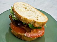 BLT with Spruce Mayonnaise
