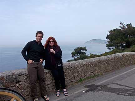 Ayse and Otto Gilbert in Turkey 2012