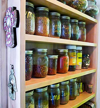 Ayse's Spice Rack (Built by Chuck Gilbert)