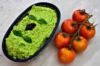 Edamame Pesto Spread (Ενταμάμε Πέστο Σαλάτα)
