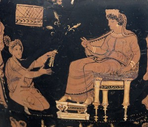Supplicant Offering Demeter Grain