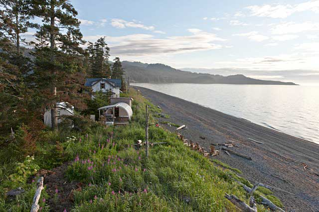 Eric Brudie and Meg Simonian's Property on McDonald Spit