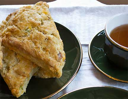 Bacon-Cheddar Quick Bread With Dried Pears Recipes — Dishmaps