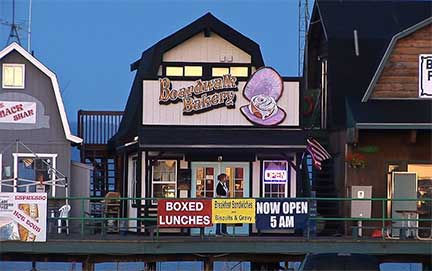 Boardwalk Bakery, Homer, Alaska