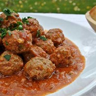 Meatballs in Chipotle-Tomato Sauce