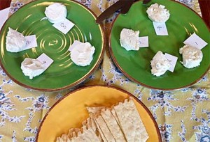 Goat Cheeses for Blind Tasting