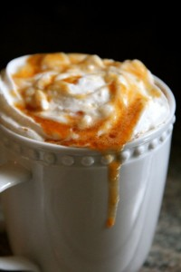 Pumpkin Spice Latte Syrup from Alaska From Scratch