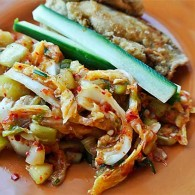 Napa Cabbage and Cucumber Kimchi