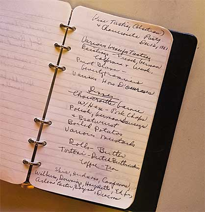 Mother's Menu Journal
