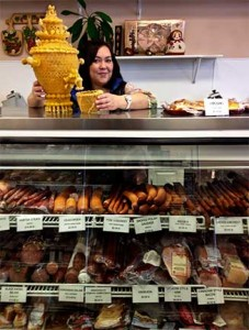 Anastasia Natekina at Eastern European Store &amp; Deli