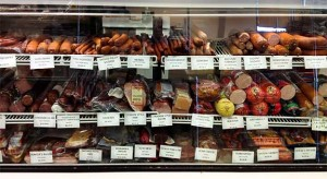 Cured Meats at Eastern European Store & Deli