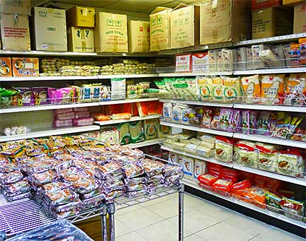 Noodle Room In Lucky Market