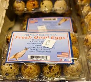 Lucky Market Fresh Quail Eggs