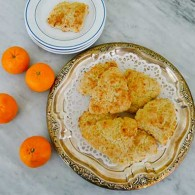 Tangerine Scones with Yogurt