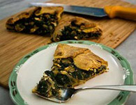 Kale Glut? Make Easy Tart with Fancy Name